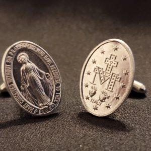 Miraculous Medal Cufflinks